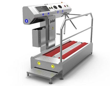 Радіаційний обладнання для санпропускника ЧАЕС на 1430 місць (для ГУП ЧАЕС) – Поставка, монтаж, введення в експлуатацію
